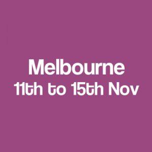 Melbourne dates